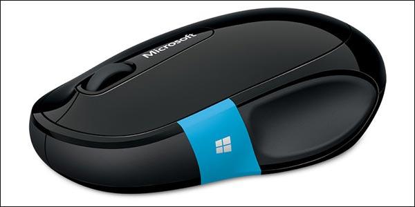 photo souris Microsoft avec touche Windows