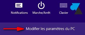 changer langue clavier Windows 8