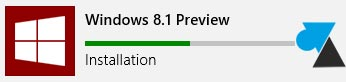 installer Windows 8.1 Preview telecharger