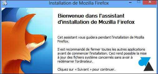 tutoriel installation navigateur internet Mozilla Firefox