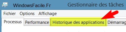 historique des applications