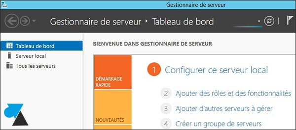 windows server 2012 r2 gestion