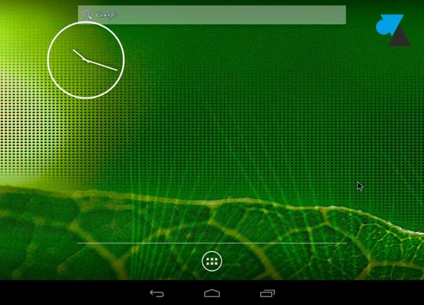 Android VM souris
