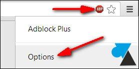 options Adblock