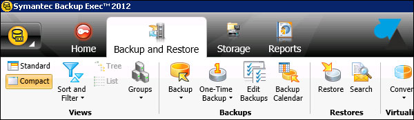 Symantec Backup Exec anglais english