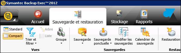 Backup Exec francais