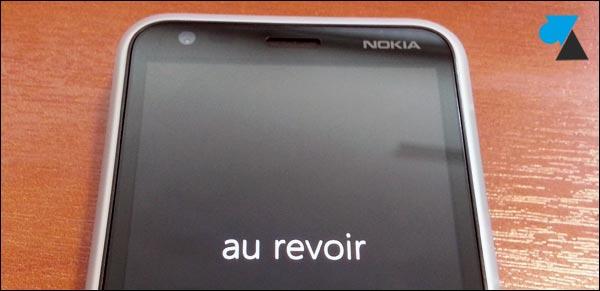 Nokia Lumia 620 qualite ecran arret