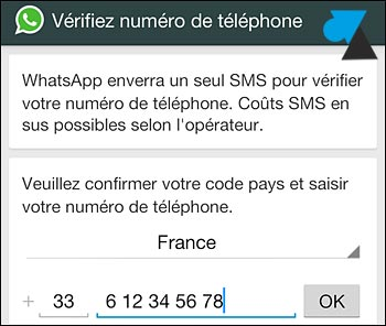 test WhatsApp application messagerie mobile