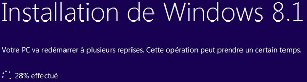 mise a jour niveau Windows 81 7