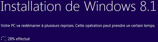 mise a jour niveau Windows 81 7