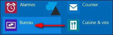 application bureau Windows 8 8.1