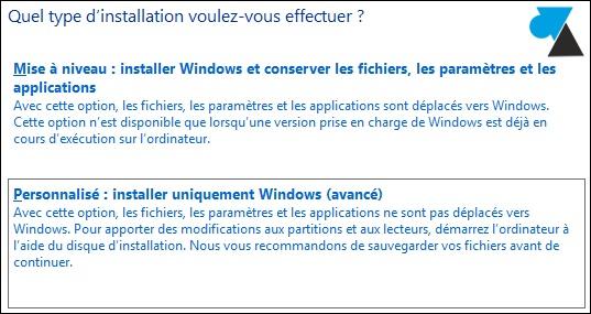 windows81 disque dur personnaliser