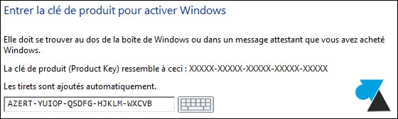 Windows 8.1 numero serie cle licence keygen