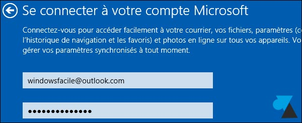 tutoriel manuel Windows 8-1 compte Microsoft