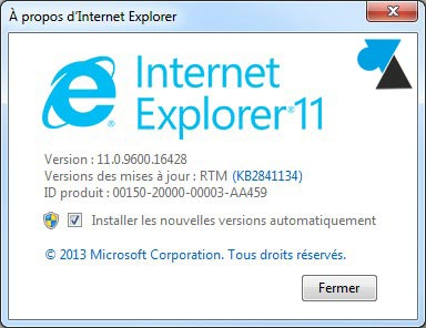 IE11 Internet Explorer 11