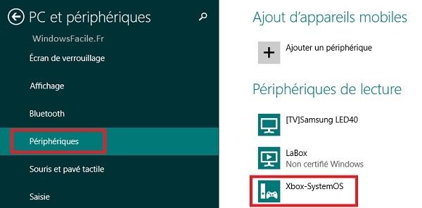 Peripheriques Xbox One