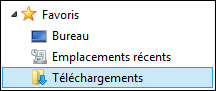 bibliotheque documents telechargements Windows