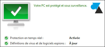 antivirus Windows Defender ok