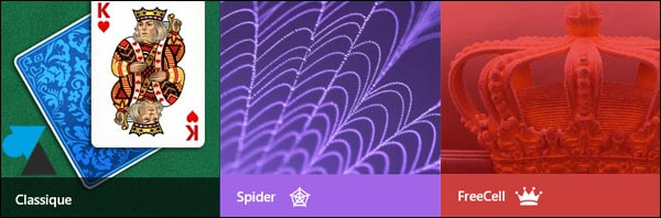 Spider Solitaire Freecell jeu Windows