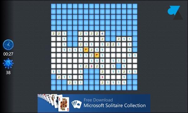 Windows Phone Demineur jeu gratuit Microsoft