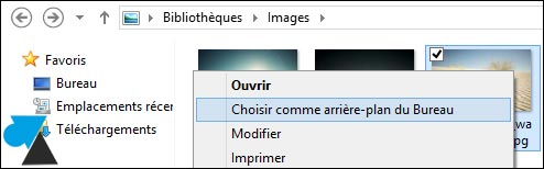 photo fond ecran Windows