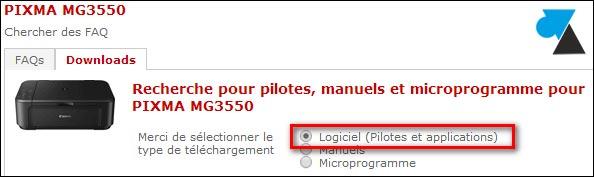 TÉLÉCHARGER LOGICIEL SCANNER CANON MP160
