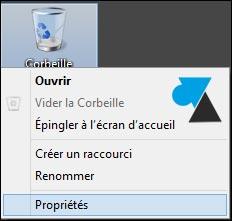 tutoriel Corbeille confirmer supprimer fichier