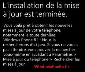 Preinstallation WP 8.1