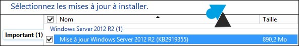 update KB2919355 Windows Server 2012 R2
