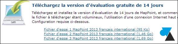 tutoriel telecharger Microsoft MapPoint 2013 Europe