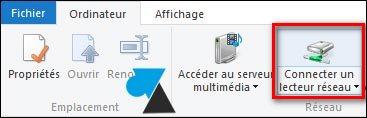 tutoriel Windows connecter lecteur reseau