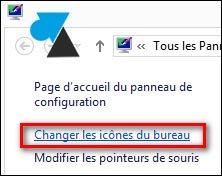 changer icones bureau