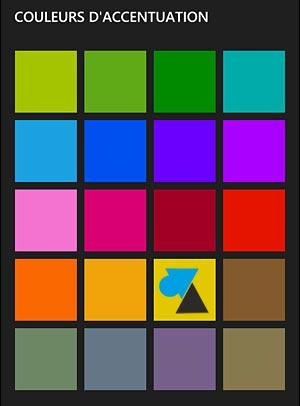 Nokia Lumia Windows Phone theme couleur icone