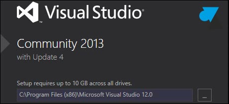 tutoriel installer Visual Studio Community 2013