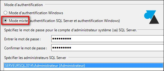 tutoriel installer SQL Server 2014