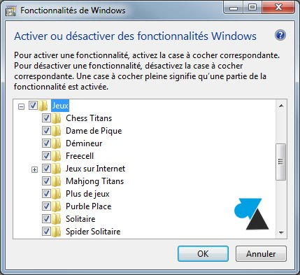 tutoriel installer jeux Windows 7