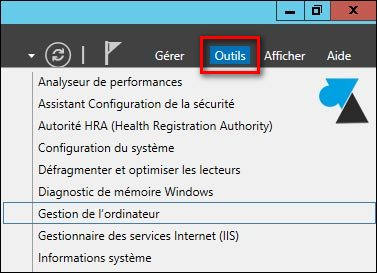 tutoriel gestion ordinateur windows server 2012