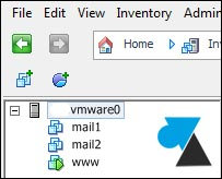 tutoriel VMware ESXi vSphere cluster host hote