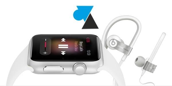 Apple Watch : copier de la musique sur la montre