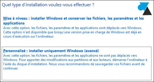 tutoriel installation Windows 10