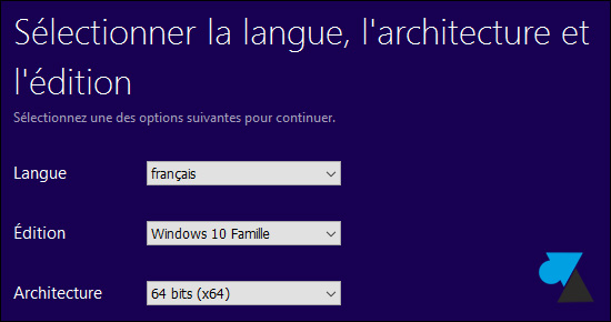 tutoriel telecharger Windows 10 ISO USB gratuit