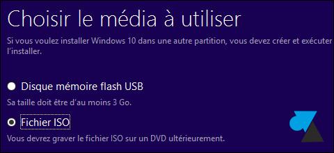 tutoriel telecharger Windows 10 ISO USB gratuit
