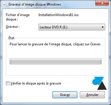 tutoriel telecharger Windows 8.1 ISO USB DVD gratuit
