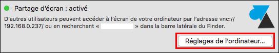 tutoriel Mac OS X partage ecran VNC
