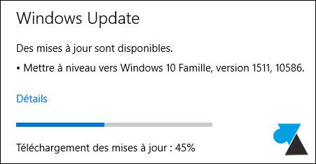 tutoriel Windows 10 Parametres mise a jour securite Windows Update