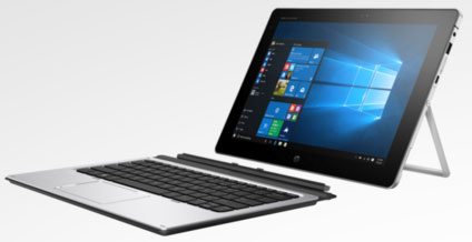 photo ordinateur portable hybride tablette HP Elite x2 1012 Ultrabook