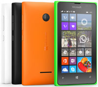 photo smartphone Nokia Microsoft Lumia 435
