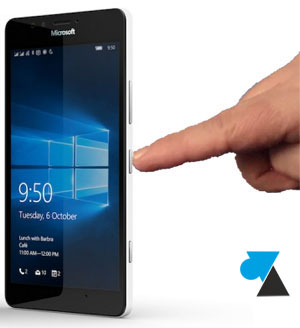 tutoriel arreter redemarrer smartphone Lumia Windows 10 Mobile