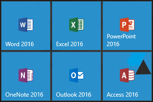 tutoriel Office 2016 Word Excel PowerPoint Outlook Access