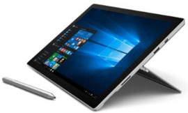ordinateur portable hybride tablette Ultrabook Microsoft Surface Pro 4